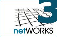Variation des netWORKS-Logos, Ergänzung um die Ziffer 3